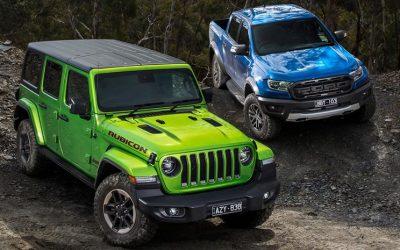 so sánh ranger raptor và jeep